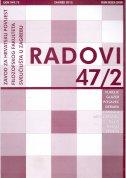 Radovi Zavoda za hrvatsku povijest FFZG-A 47/2