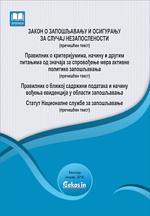 Zakon o zapošljavanju i osiguranju za slučaj nezaposlenosti i podzakonska akta