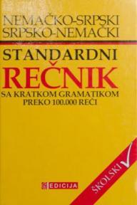 Nemačko-srpski, srpsko-nemački standardni rečnik sa kratkom gramatikom i preko 100000 r
