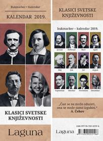 Bukmarker : Kalendar 2019. - Klasici svetske književnosti