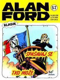 Alan Ford klasik 57 - Spašavaj se tko može