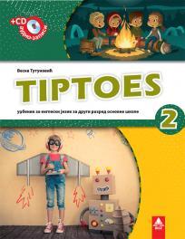 Tiptoes 2, radni udžbenik iz engleskog jezika i CD