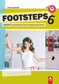 Footsteps 6, udžbenik + CD