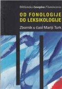 Od fonologije do leksikologije