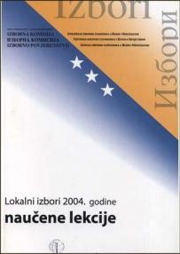 Lokalni izbori 2004. : naučene lekcije