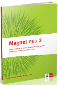 "Nemački jezik 6, radna sveska ""Magnet neu 2"" + CD za šesti razred"