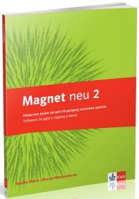 """Nemački jezik 6, udžbenik """"Magnet neu 2"""" + CD za šesti razred"""