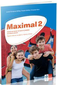 "Nemački jezik 6, radna sveska ""Maximal 2"" + CD, za šesti razred"