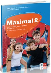 "Nemački jezik 6, udžbenik ""Maximal 2"" + CD za šesti razred"