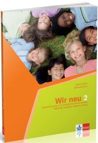 """Nemački jezik 6, udžbenik """"Wir neu 2"""" + CD za šesti razred"""