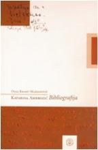 Bibliografija Katarine Ambrozić