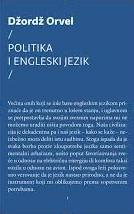 Politika i engleski jezik