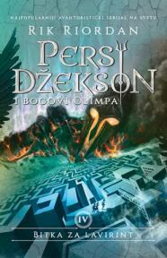 Persi Džekson i bogovi Olimpa IV - Bitka za lavirint