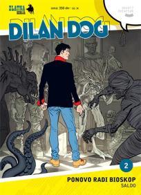 Zlatna serija 2 - Dilan Dog: Ponovo radi bioskop (Korica A)