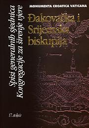 Đakovačka i Srijemska biskupija, Spisi generalnih sjednica Kongregacije za širenje vjer