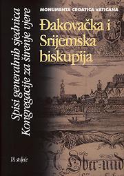 Đakovačka i Srijemska biskupija,Spisi generalnih sjednica Kongregacije za širenje vjere