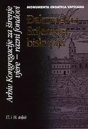 Đakovačka i Srijemska biskupija, Arhiv Kongregacije za širenje vjere - Razni fondovi
