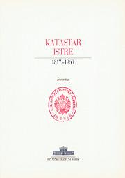 Katastar Istre 1817.-1960. - Inventar