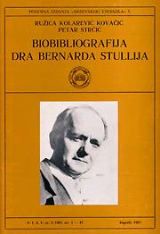 Biobibliografija dra Bernarda Stullija