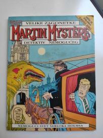Marti Misterija br. 6 Nemogući svet Šerloka Holmsa