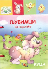 Karton slikovnica - Ljubimci za najmlađe