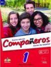 Companeros 1, komplet (udžbenik i radna sveska)