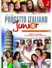 Progetto Italiano Junior 2, komplet (udžbenik, radna sveska, DVD, CD)