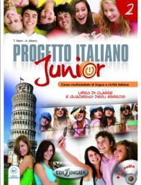 Progetto Italiano Junior 2, komplet (udžbenik, radna sveska, DVD, CD)