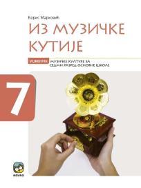 Iz muzičke kutije 7, udžbenik + 2 CD-a