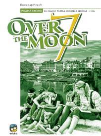 Over the Moon 7, radna sveska + CD