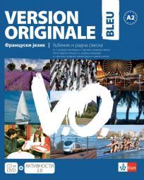 Version Originale bleu, udžbenik i radna sveska (novo izdanje)