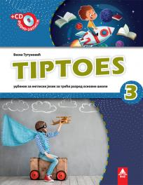 Tiptoes 3, udžbenik + CD