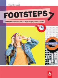 Footsteps 7, udžbenik + CD