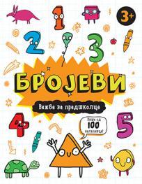 Brojevi - vežbe za predškolce 3+