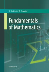 Fundamentals of Mathematics