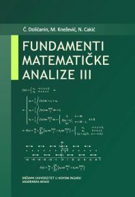 Fundamenti matematičke analize III