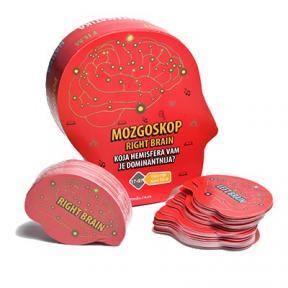 Mozgoskop: Koja hemisfera vam je dominantnija? - crvena
