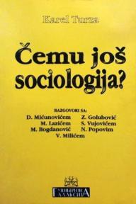 Čemu još sociologija?