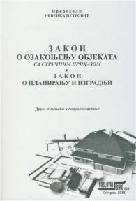 Zakon o ozakonjenju objekata sa stručnim prikazom i Zakon o planiranju i izgradnji
