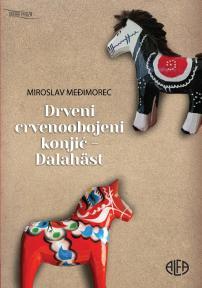 Drveni crvenoobojeni konjić - Dalahäst