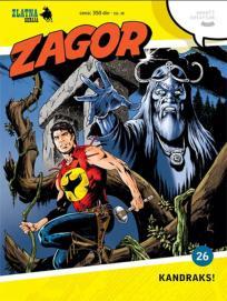 Zlatna serija 26: Zagor - Kandraks! (korica A)