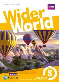 Wider World Starter, udžbenik
