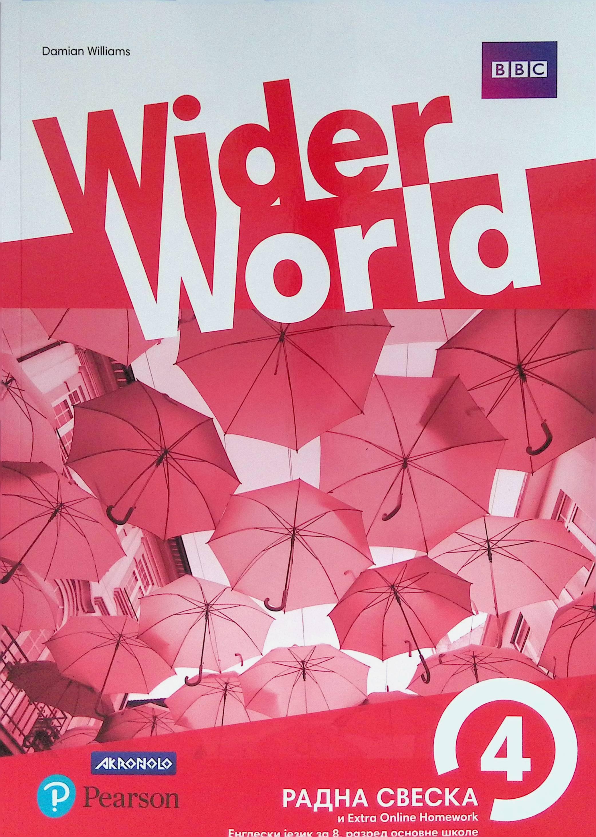 Wider World 4, radna sveska