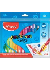 Maped TWIST voštane pastele 1/24