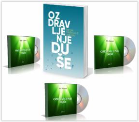 Ozdravljenje duše, komplet (e-knjiga + 3 audio CD-a)