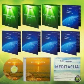 Komplet od 10 audio CD-a S. N. Lazareva
